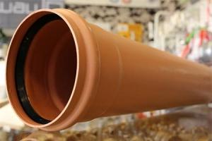 Lauko kanalizacijos vamzdis, Dn110 L1000