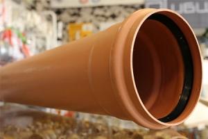 Lauko kanalizacijos vamzdis, Dn160 L3000