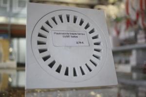 Plastmasinis trapas, kampu DN50/95 baltas