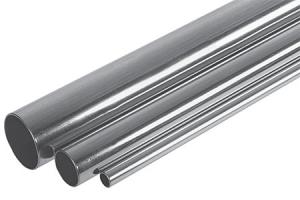 Plieninis presuojamas cinkuotas vamzdis 28 x 1.5