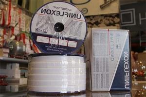 PTFE juostelė, 10 x 2,0 mm,kaina už 1metra