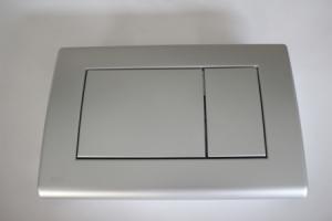 WC mygtukas dvigubas, nikeliuotas (M71)